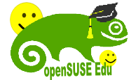 Logo of the openSUSE-Education