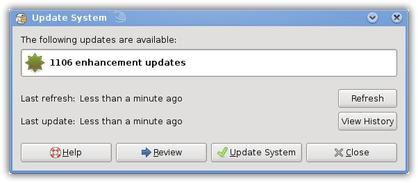 GNOME Updater Applet