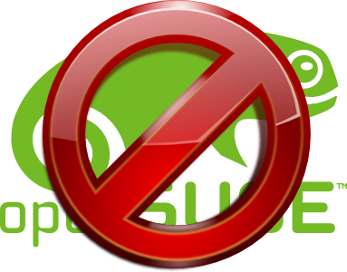 no opensuse anymore. sorry!