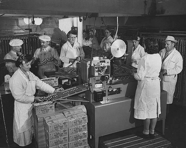 Image o Factory Assembly Line