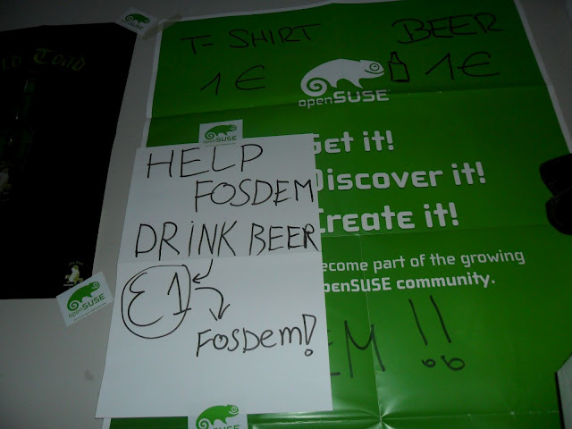 Help FOSDEM, Drink Beer!