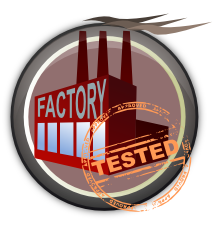 factory-tested