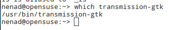 which transmission-gtk
