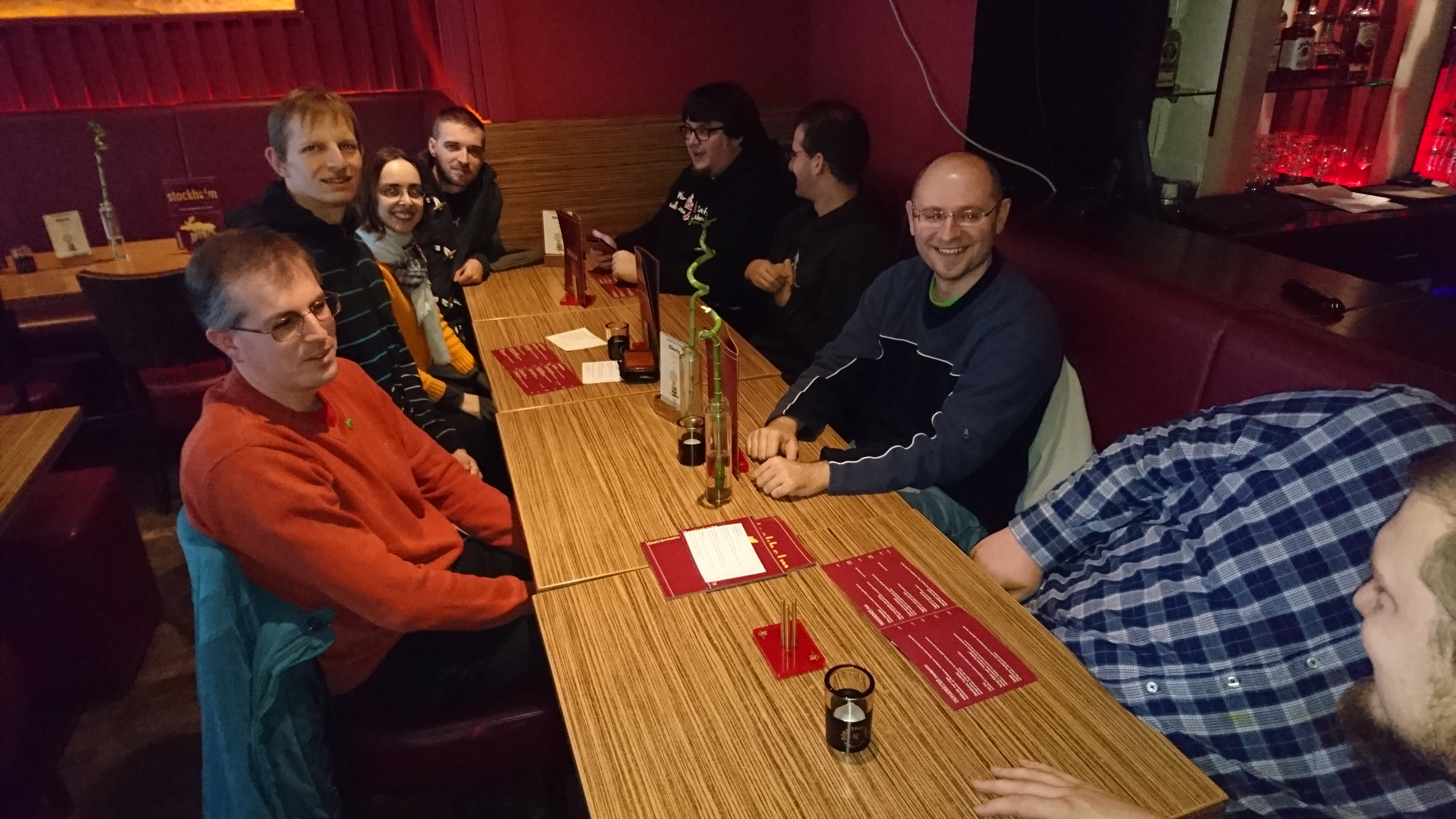 openSUSE Heroes out for lunch.